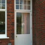 Exterior wood doors